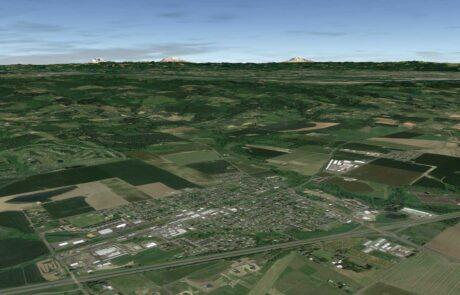 GE Oblique Aerial